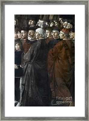 Christ, Peter And Andrew Framed Print by Granger