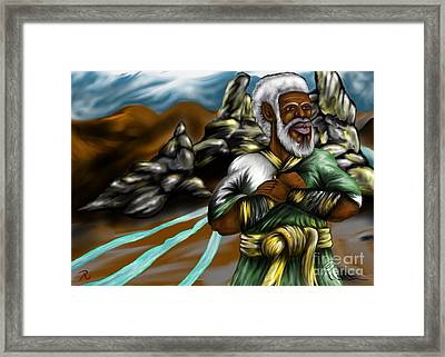 Christ The Messiah Our King Framed Print