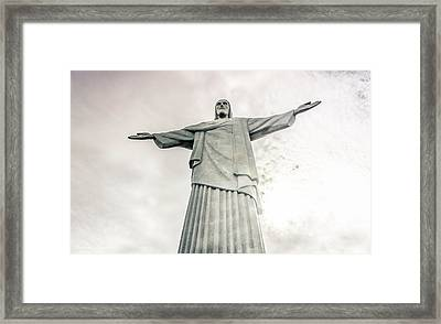 Christ The Redeemer Framed Print by Andrew Matwijec