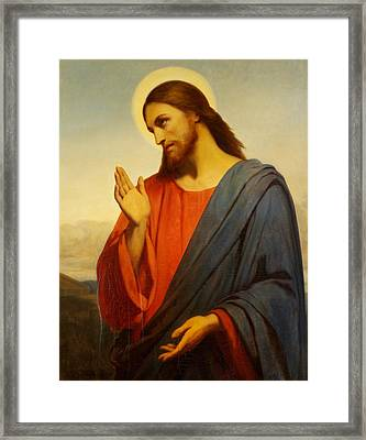 Christ Weeping Over Jerusalem Framed Print
