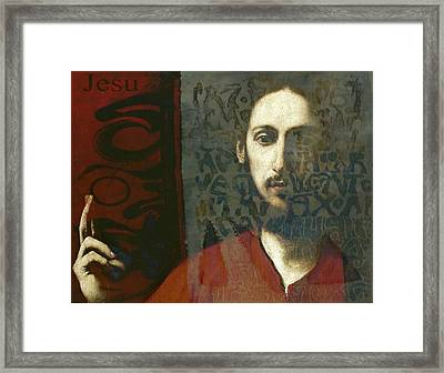 Christ You Know It Ain't Easy  Framed Print