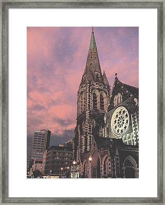 Christchurch I Framed Print