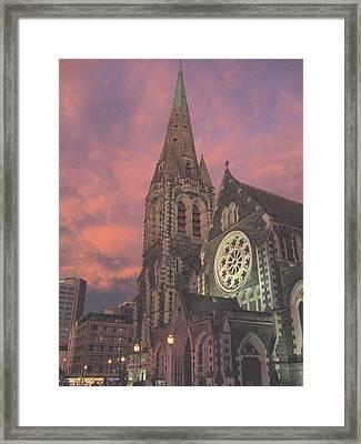 Christchurch II  Framed Print
