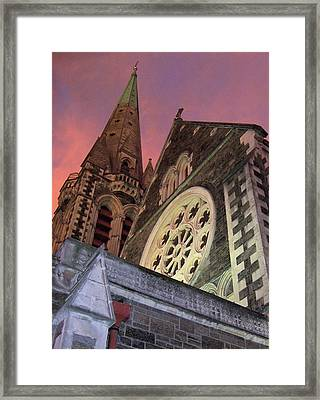 Christchurch Framed Print