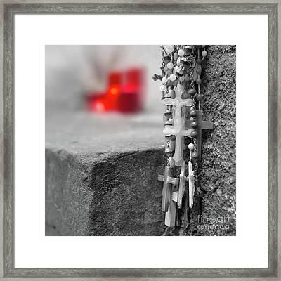 Christian Rosaries Framed Print by Germano Poli