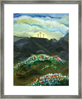 Christianity  Framed Print
