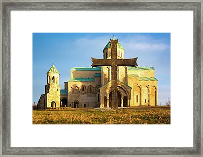 Christina Church Framed Print by Svetlana Sewell
