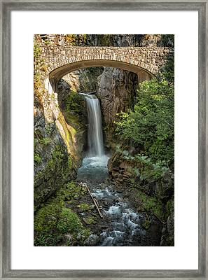 Framed Print featuring the photograph Christine Falls by Belinda Greb