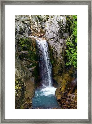 Christine Falls Mt Rainier Framed Print
