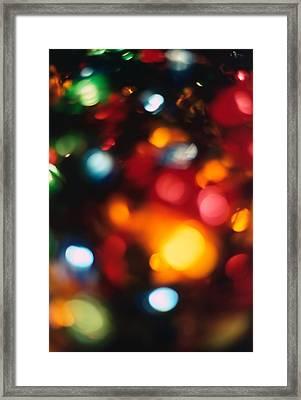 Christmas Abstract 2 Framed Print by Steve Ohlsen