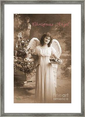 Christmas Angel Framed Print