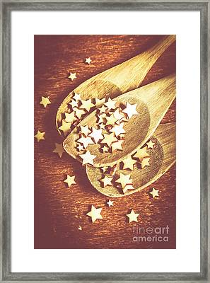 Christmas Baking Background Framed Print by Jorgo Photography - Wall Art Gallery