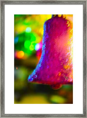 Christmas Bell  Framed Print