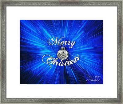 Christmas Brillance Framed Print