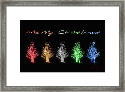 Christmas Card 2016 Framed Print