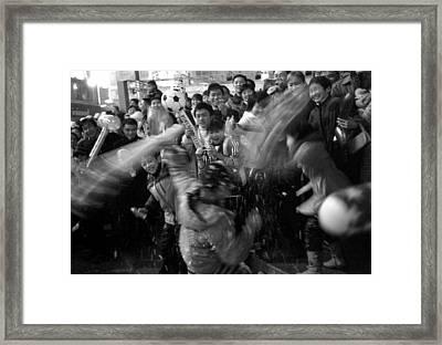 Christmas Carnival Framed Print