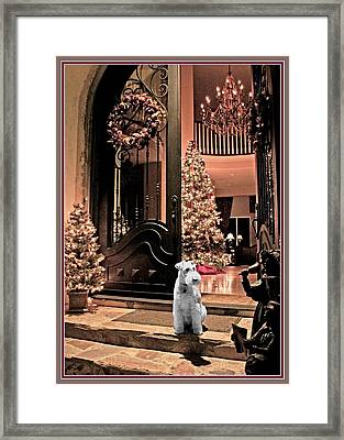 Christmas Carol Framed Print by Chambers and  De Forge