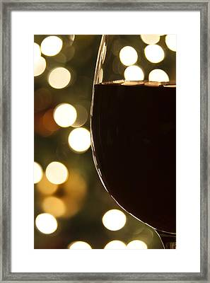Christmas Celebration Framed Print by Andrew Soundarajan