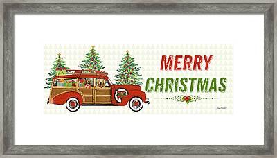 Christmas Cheer-c Framed Print