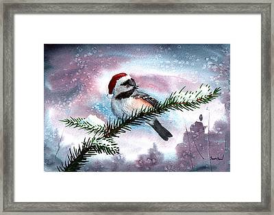 Christmas Chic Framed Print by Sean Seal