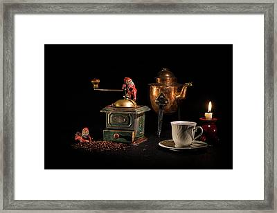 Christmas Coffee-time Framed Print by Torbjorn Swenelius