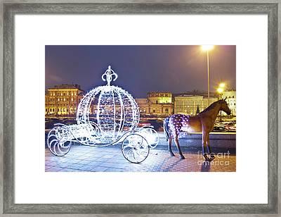 Christmas Decoration, Moscow Framed Print by Irina Afonskaya