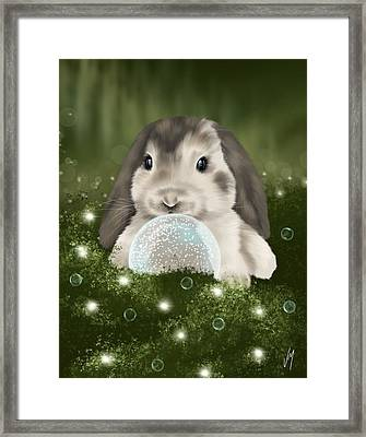 Framed Print featuring the painting Christmas Decoration  by Veronica Minozzi