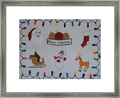 Christmas Dreams Framed Print