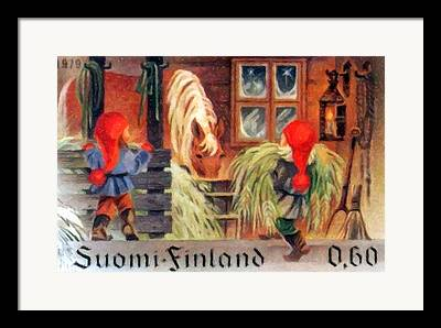 Cowhouse Paintings Framed Prints