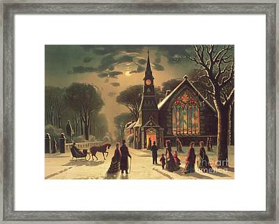 Christmas Eve Framed Print by J Latham