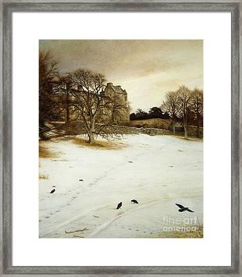 Christmas Eve Framed Print by John Everett Millais