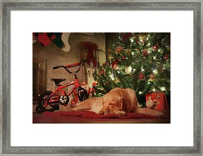 Framed Print featuring the photograph Christmas Eve by Lori Deiter