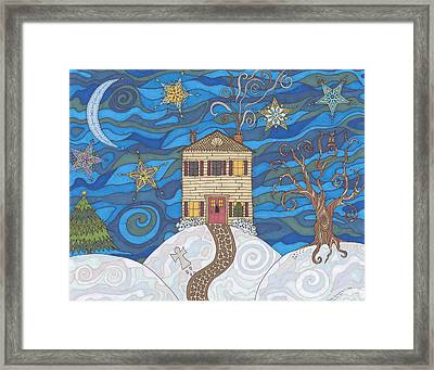 Christmas Eve Framed Print by Pamela Schiermeyer