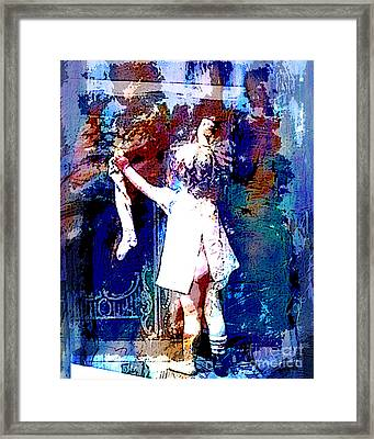 Christmas Eve Preparations Framed Print by Tammera Malicki-Wong
