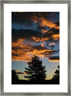 Christmas Eve Sunrise 2016 Framed Print by Jason Coward