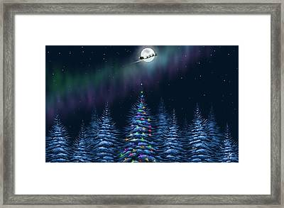 Christmas Eve Framed Print by Veronica Minozzi