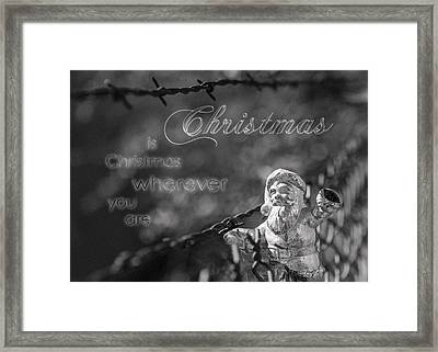 Framed Print featuring the photograph Christmas Everywhere by Caitlyn Grasso
