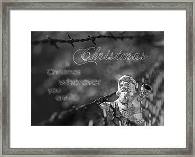 Christmas Everywhere Framed Print by Caitlyn Grasso