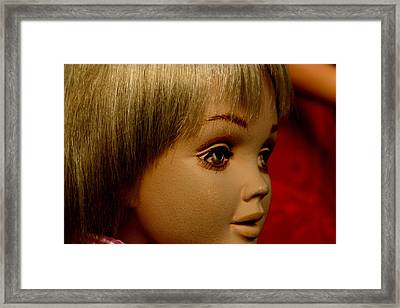 Christmas Excitement Framed Print by Jez C Self