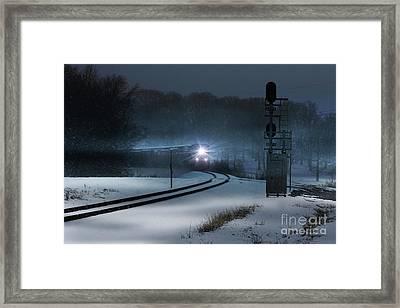 Christmas Express Framed Print