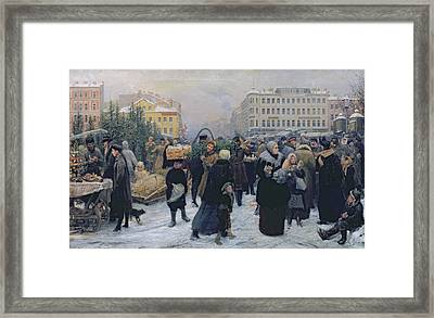 Christmas Fair  Framed Print