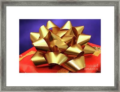 Christmas Gift Framed Print by Gaspar Avila