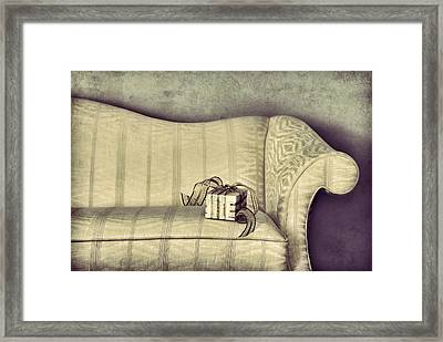 Christmas Gift Framed Print by HD Connelly