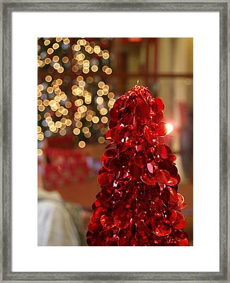 Christmas Glow Framed Print by James Granberry