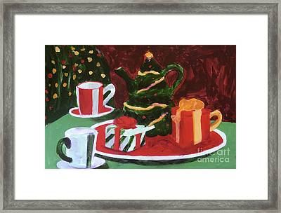 Christmas Holiday Framed Print