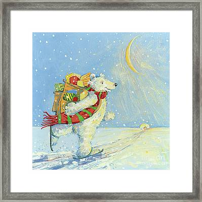 Christmas Homecoming Framed Print by David Cooke