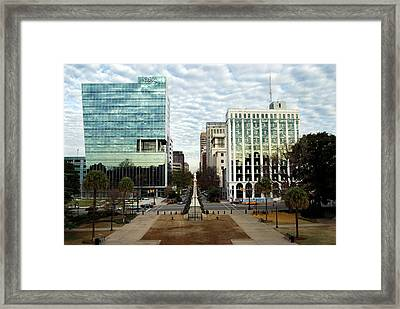 Christmas In Columbia Sc Framed Print by Skip Willits