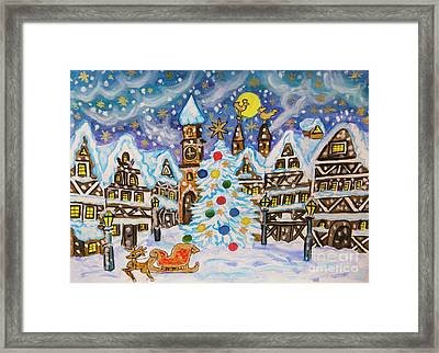 Christmas In Europe Framed Print
