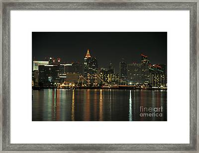 Christmas In San Diego Framed Print
