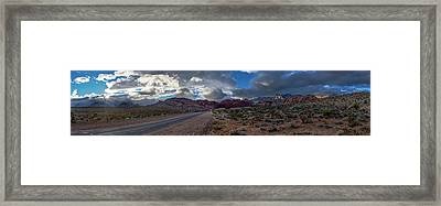 Framed Print featuring the photograph Christmas In The Desert by Ryan Smith